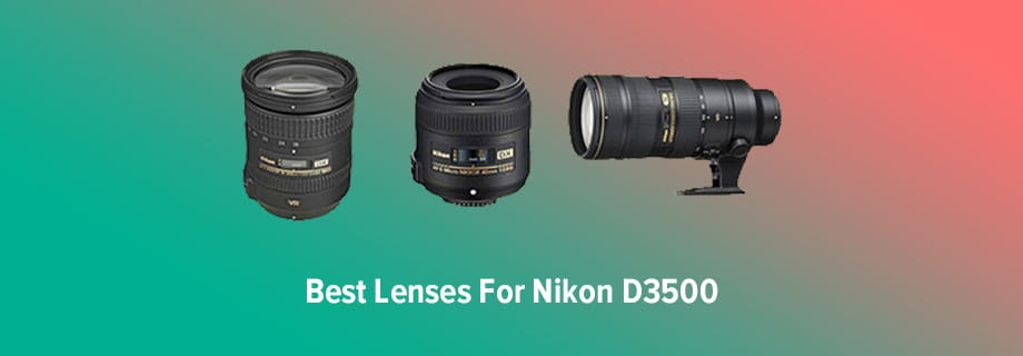 Best Nikon D3500 Lenses