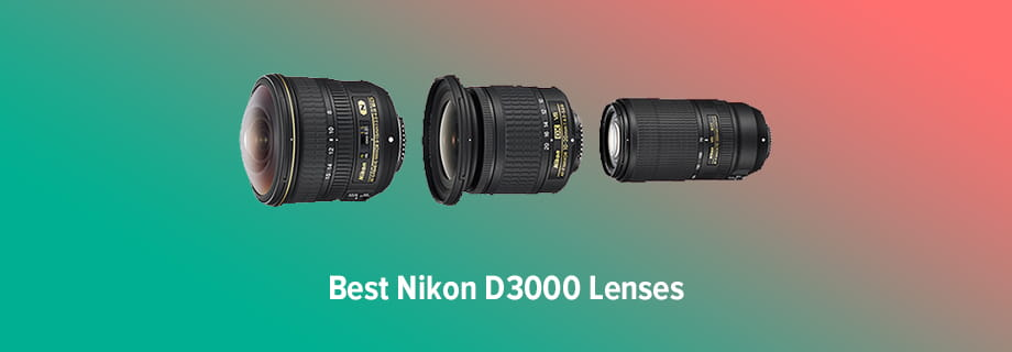 Best Nikon D3000 Lenses