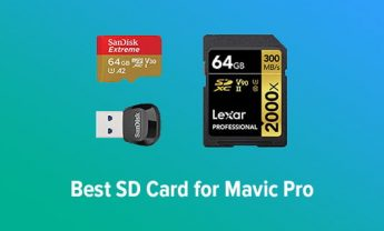 7 Best SD Cards for Mavic Pro in 2021 [Compatible Options]