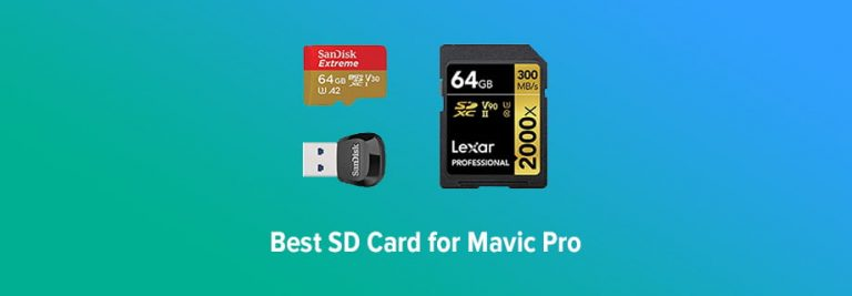 Best SD Cards for Mavic Pro