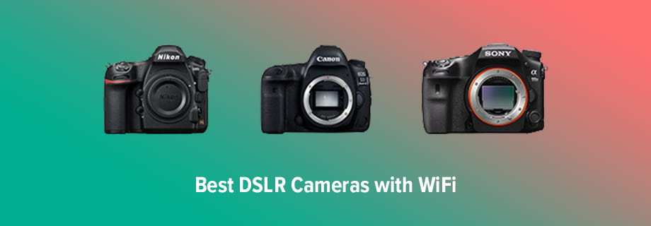 Best DSLR Camera with WiFi