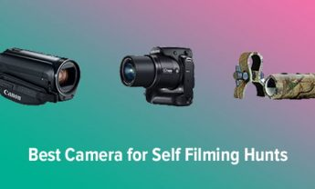 10 Best Cameras for Self Filming Hunts in 2021 [According to 91 Hunters]